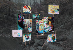 The Drifter Painting Series Outdoor Installation
