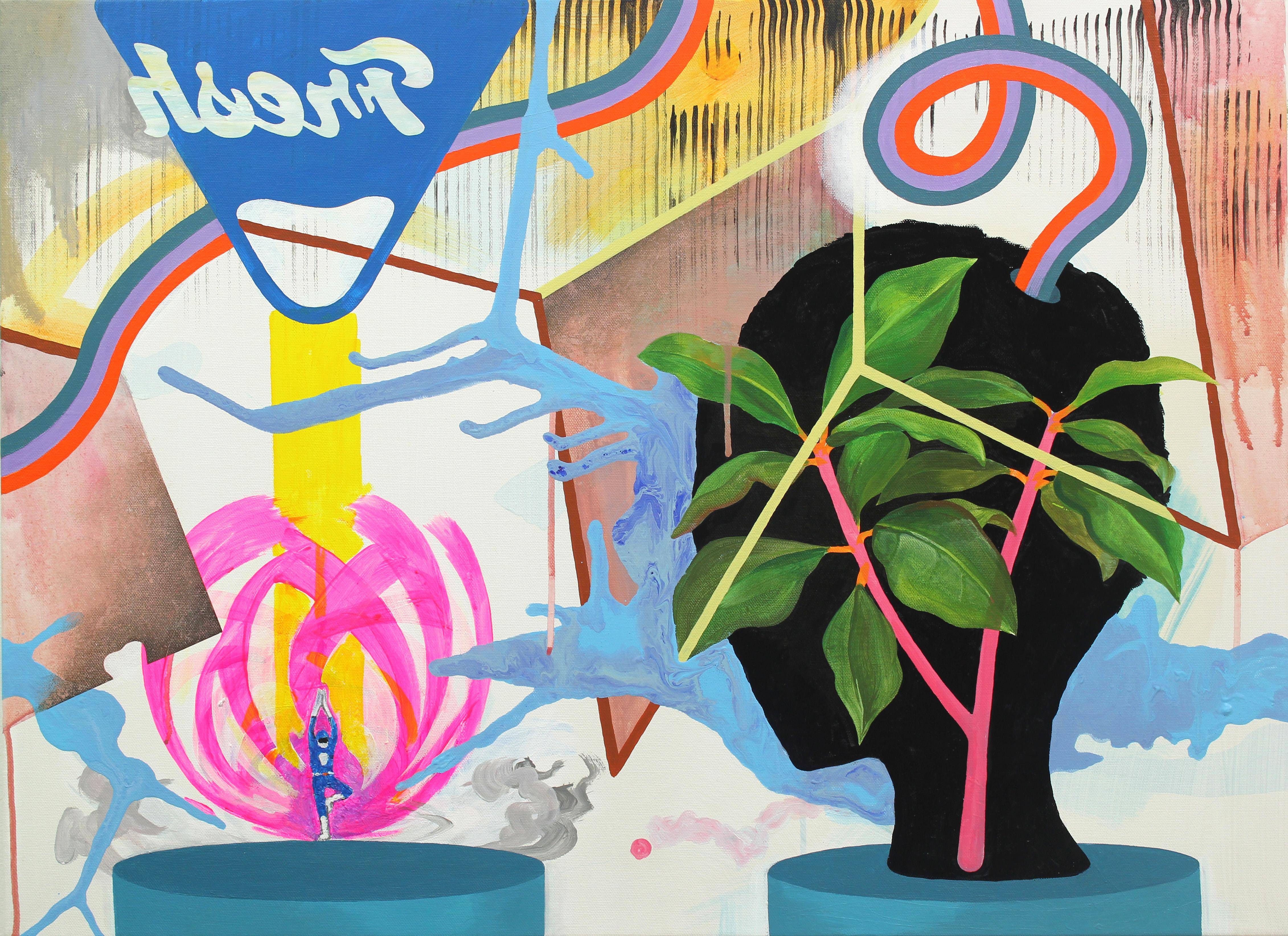 Seeding_acrylic on canvas_53 x 73cm_2014