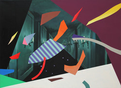 The Shards of Wind_바람 조각들_acrylic on canvas_53 x 73cm_2014