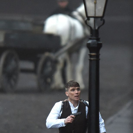Cillian Murphy in action in Liverpool