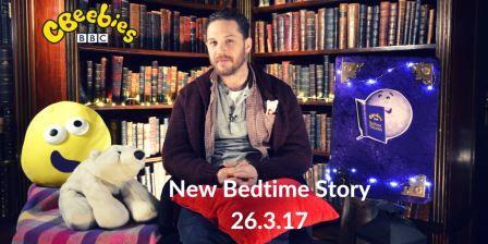 Tom Hardy CBeebies 26 March 2017
