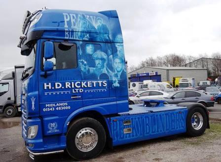 Peaky lorry Daz Copson small