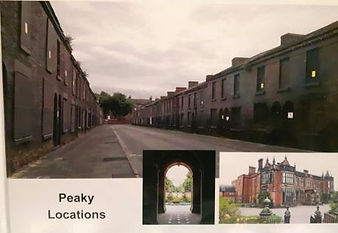 Peaky Locations Tour photo book