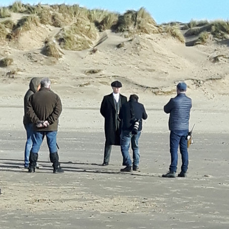 Peaky Blinders take Formby Beach