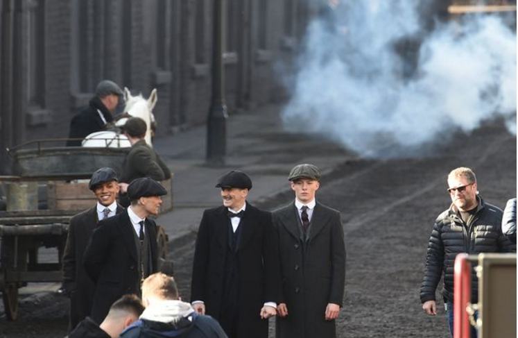 Peaky Blinders filming Season 4 in Liverpool