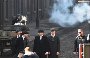 Peaky Blinders filming Season 4 in Liverpool