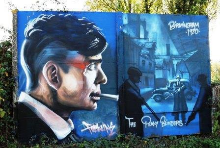 The Peakys inspire blinding street art.