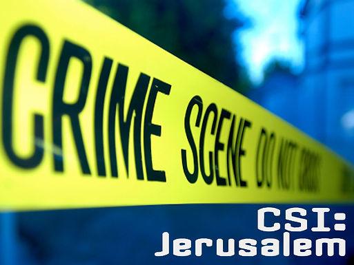 CSI: Jerusalem