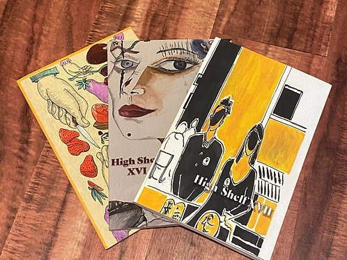 Book Bundle: High Shelf XV, XVI, & XVII
