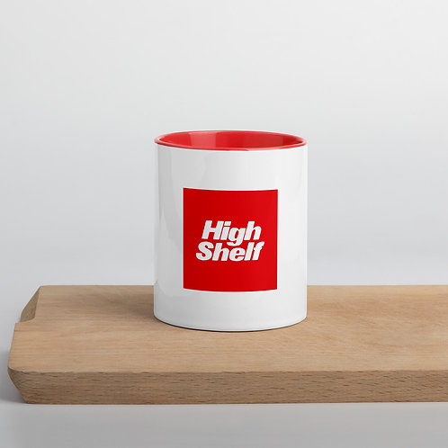 High Shelf Mug with Color Inside