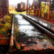 Carrie_Blast_Furnaces_19_Train_at_Dumper