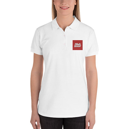 High Shelf Embroidered Women's Polo Shirt