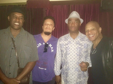 Late hang W/fam/Essiet Essiet,Russel Mallone,Mark Whitfield