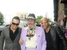 at the soundcheck with Dr John,and Mark Whitfield