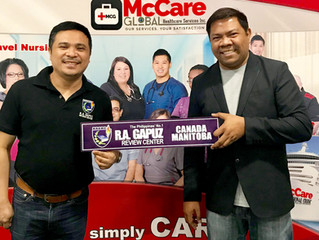 McCare Global Center is Bringing the RA Gapuz way to top the NCLEX