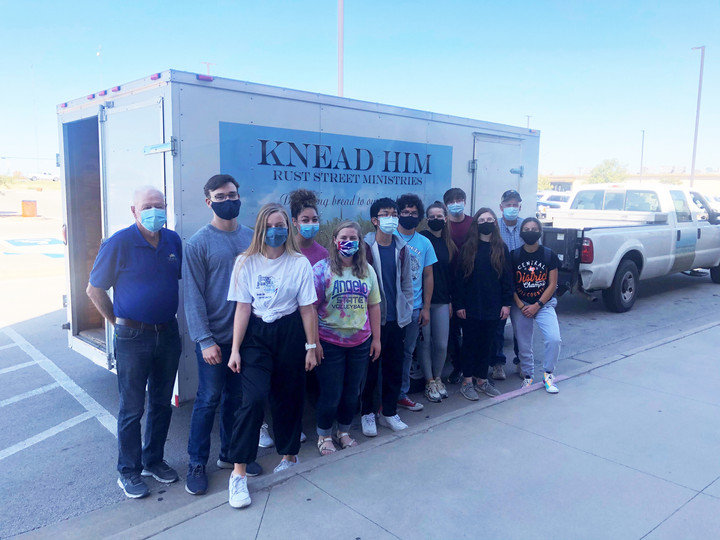 NHS sponsors Blessed to be a Blessing food drive
