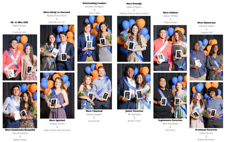 Class favorites presented at annual ceremony