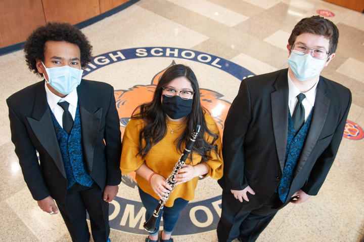 Choir, band students named All-State musicians