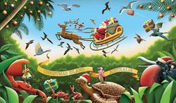 Christmas Island minisheet 2016