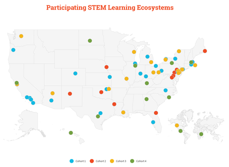 South Suburban STEAM Network recognized as a STEM Learning Ecosystem