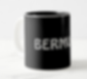 Coffee mug from Jeb Bohn's suspense thriller novel Bermuda