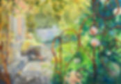 Dream in a garden