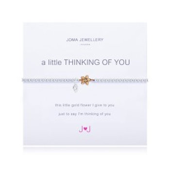 Joma Jewellery 'A little......' Adult Bracelet - Thinking Of You