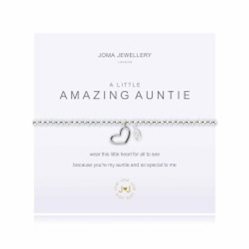 Joma Jewellery 'A little......' Adult Bracelet - Auntie