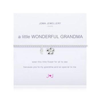 Joma Jewellery 'A little......' Adult Bracelet - Grandma