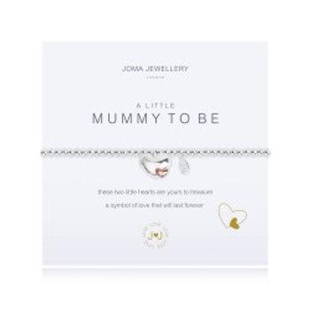 Joma Jewellery 'A little......' Adult Bracelet - Mummy To Be