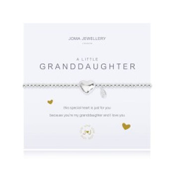 Joma Jewellery 'A little......' Adult Bracelet - Granddaughter