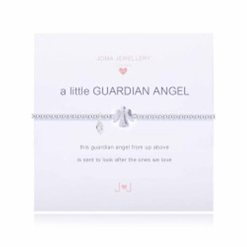 Joma Jewellery 'a little.....' Girl's Bracelet-Guardian Angel