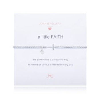 Joma Jewellery 'a little.....' Girl's Bracelet- Faith