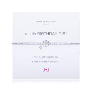 Joma Jewellery 'A little......' Adult Bracelet - Birthday Girl