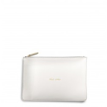 Katie Loxton Perfect Pouch 'Hello Lovely' - White
