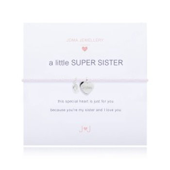 Joma Jewellery 'a little.....' Girl's Bracelet - Sister