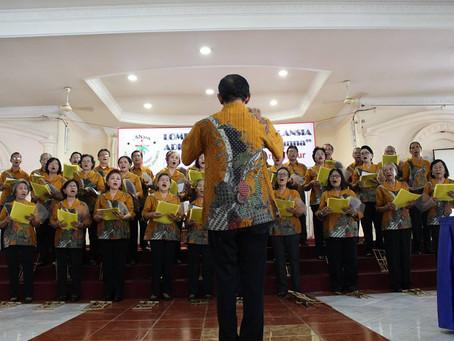 Lomba Paduan Suara Lansia Se-Dekenat Jakarta Timur