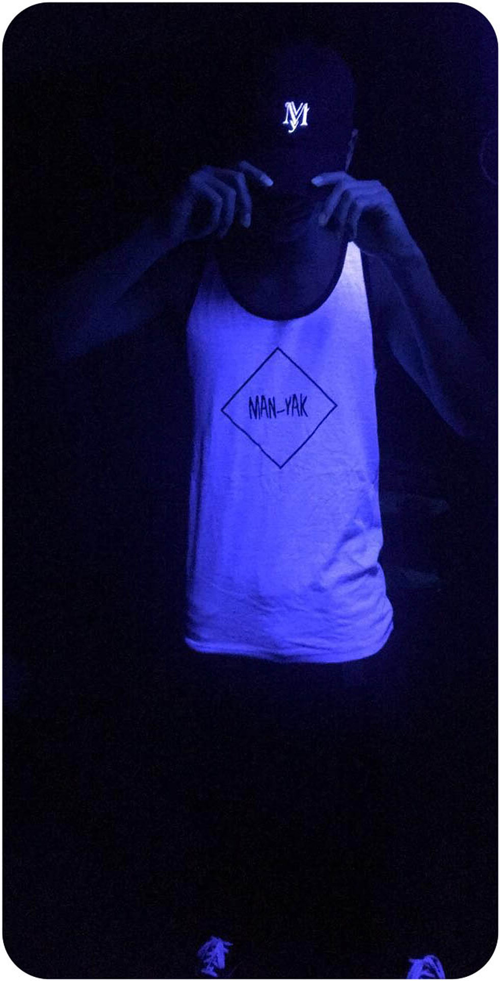 Black yak t shirt - Lightning Blue Man Yak T Shirt Black