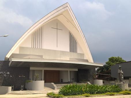 Peresmian Gereja St. Ambrosius Paroki Villa Melati Mas Serpong sebagai Paroki Ke–66 KAJ