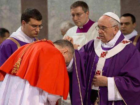 Rabu Abu, Paus Fransiskus Sebut Kesuksesan, Kekuasaan akan Lenyap