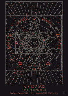 Poster Labirinto, lançamento Gehenna 2016