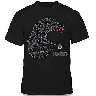 Labirinto - Camiseta Kadjwynh Lobo Preta
