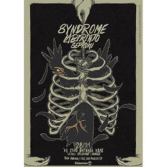 Labirinto - Poster Europe Show Labirinto & Syndrome 2014