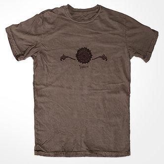 Labirinto - Camiseta Kadjwynh Lotus Marrom