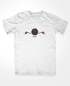 Labirinto - Camiseta Kadjwynh Lotus Branca