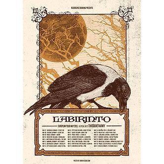Labirinto - Poster Europe Tour 2015