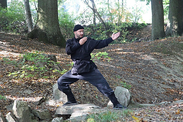 Cavin Pietzsch Ninjutsu Ninja Reiken Dojo Berlin