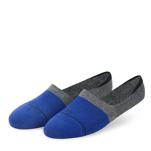 Dynamocks Invisibles Socks | India | Blue & Grey