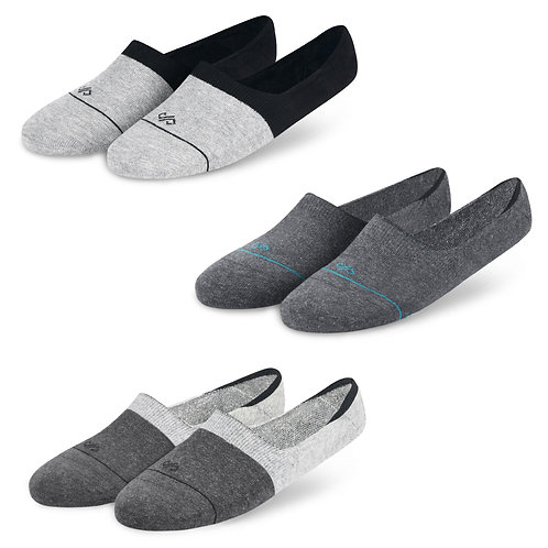 Dynamocks Invisibles Socks | India | Grey Collection