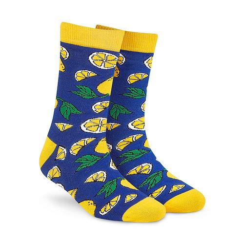Dynamocks Cotten Excellence Socks | India | Lemons Crew Length Socks R
